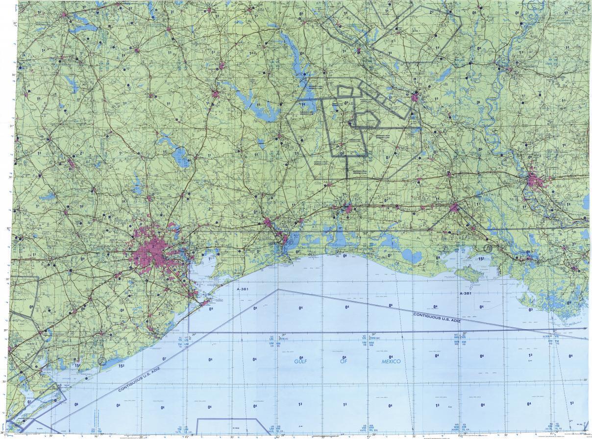 Houston karte